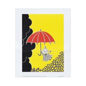 Moomin ムーミン Putinki プティンキ ミニポスター カラー ( リトルミーと傘 / 24×30cm )【北欧雑貨】