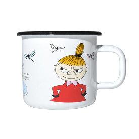 Moomin ムーミン Muurla ムールラ ホーローマグ ( Little MY / 370ml )【北欧雑貨】