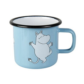 Moomin ムーミン Muurla ムールラ ホーローマグ ( Moomintroll Blue / 370ml )【北欧雑貨】