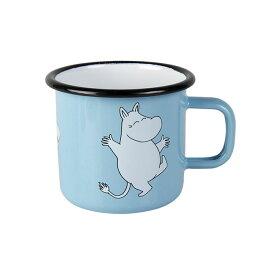 Moomin ムーミン Muurla ムールラ ホーローマグ ( Moomintroll Blue / 250ml )【北欧雑貨】