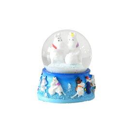 Moomin ムーミン TMF ティーエムエフ スノードーム ( マグネット )【北欧雑貨】