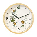 【送料無料】Moomin Clock ムーミン壁掛けクロック (ロストインバレー)【北欧雑貨】