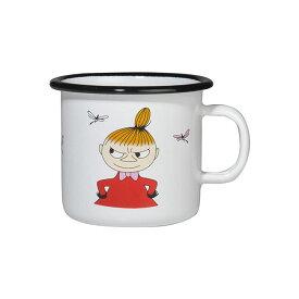 Moomin ムーミン Muurla ムールラ ホーローマグ ( リトルミイ / カラー / 250ml)【北欧雑貨】