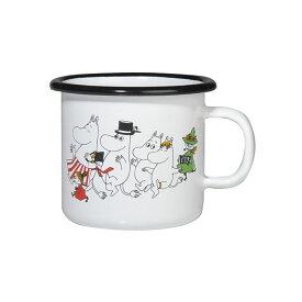 Moomin ムーミン Muurla ムールラ ホーローマグ ( ヴィレッジ / カラー / 250ml)【北欧雑貨】