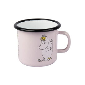Moomin ムーミン Muurla ムールラ ホーローマグ ( スノークのおじょうさん / ピンク / 250ml)【北欧雑貨】