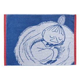 Moomin ムーミン Finlayson フィンレイソン フェイスタオル ( リトルミイスリーピング / 50×70cm )【北欧雑貨】