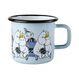 Moomin ムーミン Muurla ムールラ ホーローマグ ( フレンズ ムーミン&スノークのおじょうさん / 370ml )【北欧雑貨】