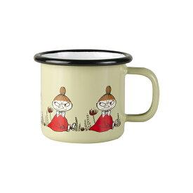 Moomin ムーミン Muurla ムールラ ホーローマグ ( フレンズ リトルミイ / 150ml )【北欧雑貨】