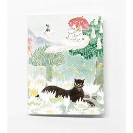 Moomin ムーミン Putinki プティンキ ミニノートブック ( 飛行おにの帽子 ムーミン&スノークのおじょうさん )【北欧雑貨】