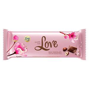【50%OFF】Fazer ファッツェル Geisha ゲイシャ ミルクチョコレート ( 板チョコ / Love / 100g )【セール】【北欧雑貨】