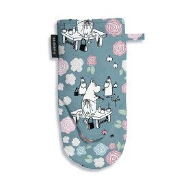 Moomin ムーミン Finlayson フィンレイソン オーブングローブ ( ローズムーミンママ / ブルー )【北欧雑貨】