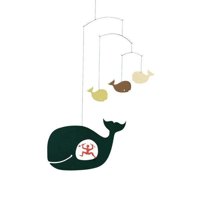 Flensted Mobiles フレンステッド・モビール ( Jonas and the Whale ヨナス&ホエール / 96 )【北欧雑貨】