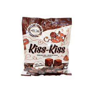 Kalev カレフ キスキス チョコレートトフィ ( 袋入り / 150g )【北欧雑貨】