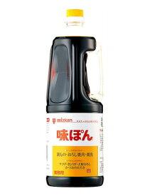 ミツカン 味ぽん ペット 1.8L 6本(1ケース)