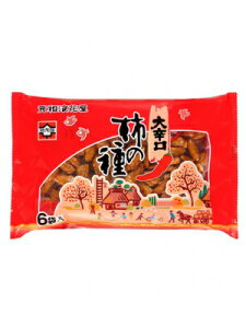 浪花屋 大辛口柿の種 6袋パック 12個(1ケース)