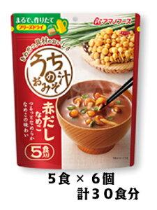 アマノフーズ うちのおみそ汁 赤だしなめこ5食 6個(1ケース)