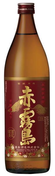 霧島酒造 芋焼酎 赤霧島 瓶 25度 900ml 【6本ご注文で送料無料】