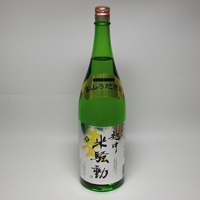 越中米騒動 麦 1.8L瓶 富山の地焼酎  焼酎甲類 乙類混和 麦焼酎
