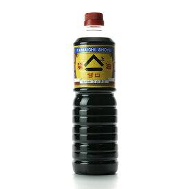 富山名産 ヤマイチ醤油 甘口 1L