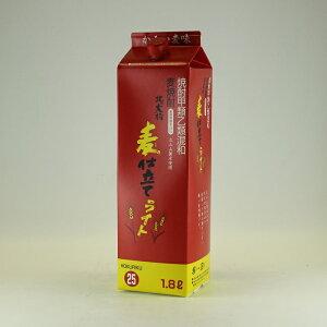 麦焼酎焼酎甲類乙類混和お買い得25%北の大将・麦仕立てライト1.8L焼酎甲類乙類混和麦焼酎