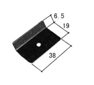 三協アルミ補修用部品 その他 裏板:裏板(たてかまち)[WB3373]【三協アルミ】【裏座】【ビス板】