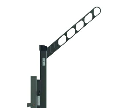 YKKAPオプションウォールエクステリアバルコニールシアス:収納式物干しセット[捨て柱タイプ]2本入り