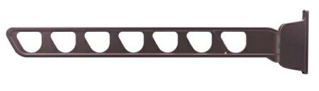YKKAPオプションウォールエクステリアバルコニールシアス:水平式物干セット木造躯体用(ロングサイズ)2本入り
