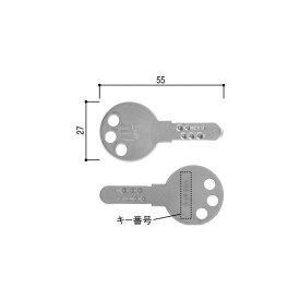 スペアキー(ウエスト製)1本(YSHHW-HHJWCKD) YKKアルミサッシ限定用品【合鍵】【ミワ】【ユーシン】【ウエスト】【ゴール】【カギ】【複製鍵】【複製錠】【合鍵製作】