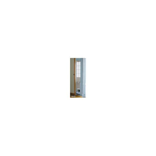 リフォーム用品 ペット用品 ペットドア サッシ用:サカイペット産業 フリーペットドア オートマチック ホワイト
