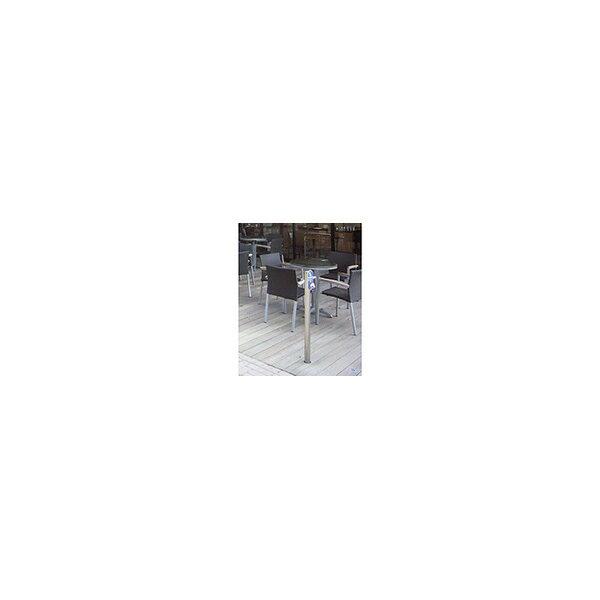 リフォーム用品 ペット用品 フック リードフック支柱:サンポール 犬用係留リードフック 高さ1050mm