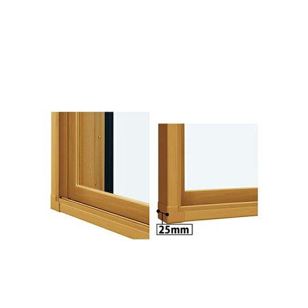 YKKAPプラマードUオプション補強部品補強ふかし枠引き違い窓用[25mm・四方]:[幅2001〜3000mm×高1201〜1400mm]