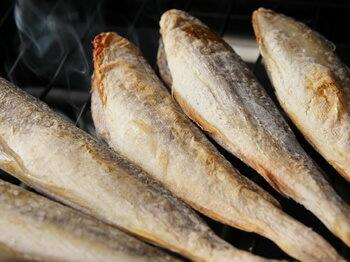 根室産一夜干し氷下魚1kg入(500g2個/急速冷凍)【A】