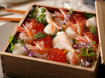 素材がいいから海鮮ちらしや海鮮丼も!