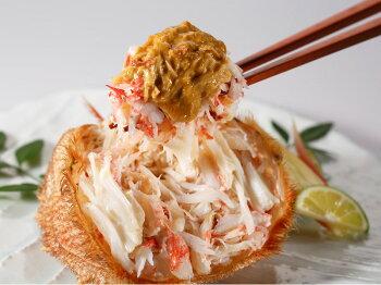 蟹味噌も甘くクリーミーで、まるでムースのような口どけです。