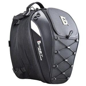 【送料無料】 オートバイリュック リュック パック バイク用 ヘルメットケース リュック サック 大容量 防水 炭繊維 オックスフォード 摩耗性 ナイロン 多機能 バイクウエア ブラック