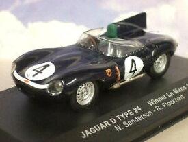 【送料無料】ホビー 模型車 車 レーシングカー ネットワークスコットランドジャガータイプ#ルマンサンダーソンixo 143 ecurie ecosse jaguar typed 4 gagnant le mans 1956 sanderson