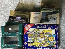 【送料無料】ホビー 模型車 車 レーシングカー コレクションフェラーリコーギー6 x divers corgi voituresvehicules dont weetabix collection, scammel, ferrari