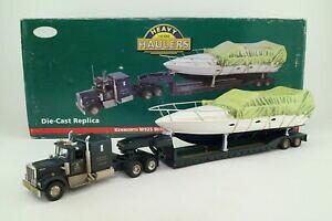 【送料無料】ホビー 模型車 車 レーシングカー コーギーローダーロードボートcorgi us55709; kenworth w925 low loader amp; bateau de charge; tres bon boxed