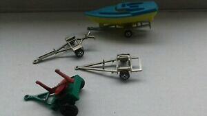 【送料無料】ホビー 模型車 車 レーシングカー ボートチアリーダーmajorette bateau amp; 3 x remorques