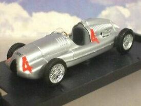 【送料無料】ホビー 模型車 車 レーシングカー #イギリスオートユニオンタイプbrumm 143 auto union type d 4 gagnant britannique grand prix 1938 tazio