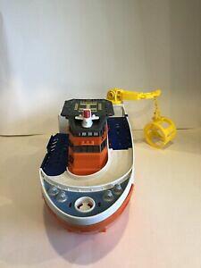 【送料無料】ホビー 模型車 車 レーシングカー マッチシャークヘリコプターボートmattel matchbox 57 voiture go commandant requin navire bateau helicoptere