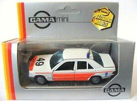 【送料無料】ホビー 模型車 車 レーシングカー スケールガマメルセデスベンツハッチング143 echelle gama 81123000 mercedesbenz 190e berlinerijkspolitiemib