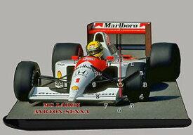 【送料無料】ホビー 模型車 車 レーシングカー ミニチュアクロックアイルトンセナhorloge miniature ayrton senna sur mc laren