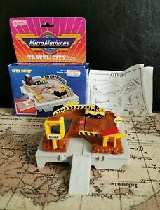 【送料無料】ホビー 模型車 車 レーシングカー マイクロマシンシティダンプgaloob micro machines travel city dump boxed