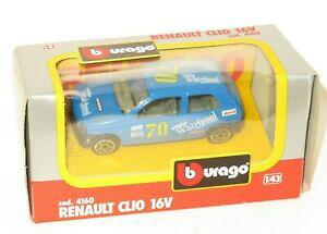 【送料無料】ホビー 模型車 車 レーシングカー #ルノークリオ#ワールプール1990s burago 4160 143 renault clio 16 v 70 whirlpool