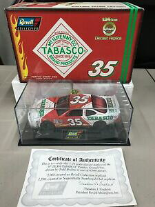 【送料無料】1997年のレベル収集TODD BODINE#35タバスコ、1/24の規模Nascar、ダイカストで製造する。1997 Revell Collection TODD BODINE #35 Tabasco 1/24 Scale Nascar Di