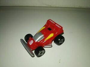 【送料無料】ホビー ・模型車・バイク レーシングカー マイクロマシンチャームレースカーmicro machines charm max race car 9, desert demon, red f1
