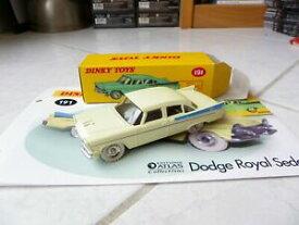 【送料無料】ホビー ・模型車・バイク レーシングカー ダッジロイヤルセダンディンキートイズアトラスコンカハファシクロdodge royal sedan 191 dinky toys atlas 143 con caja y fasciculo