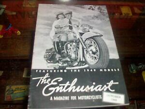 【送料無料】ホビー 模型車 モデルカー ヴィンテージハーレーダビッドソンモデルハンマーカーニースvintage harley davidson 1949 enthusiast models hummer servicar panhead nice