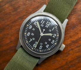 【送料無料】腕時計 ビンテージベンラスベトナムvintage benrus milw 46374a usa gi issued military watch vietnam war era 1973